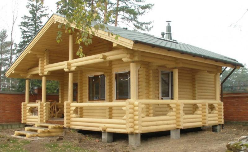 Фото деревянных бань